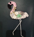 法式珠绣-火烈鸟