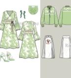 淑女时装、纯时装、休闲时装、商务各系列款的第一页