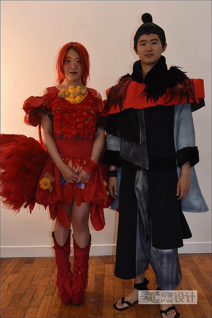毕业设计-音乐剧服装设计作品-毕业设计-音乐剧服装设计款式图