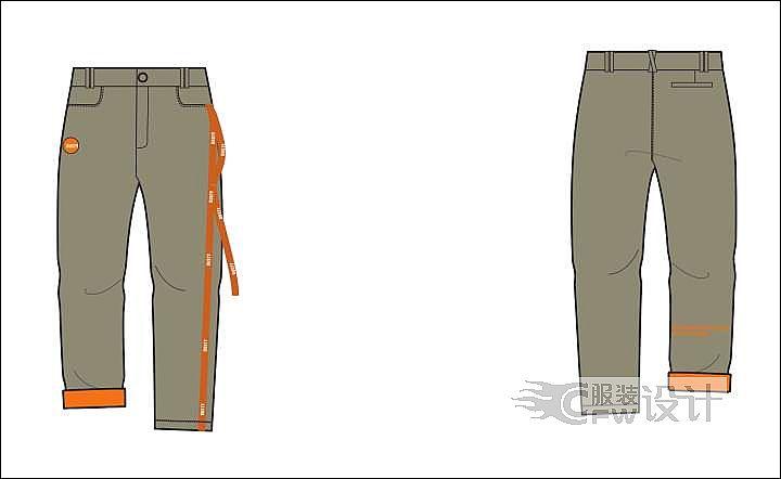 广州服装陈列师培训_裤子-男装设计-服装设计