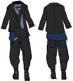新中式男装设计