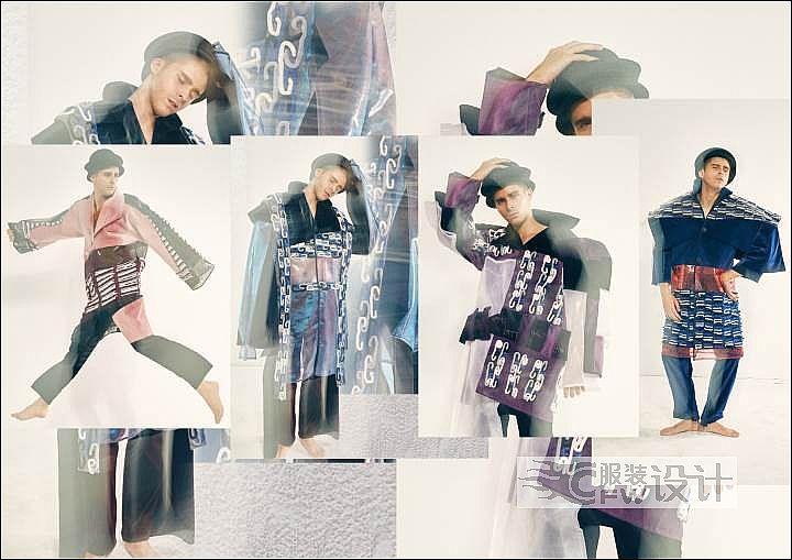 男装设计作品-男装设计款式图