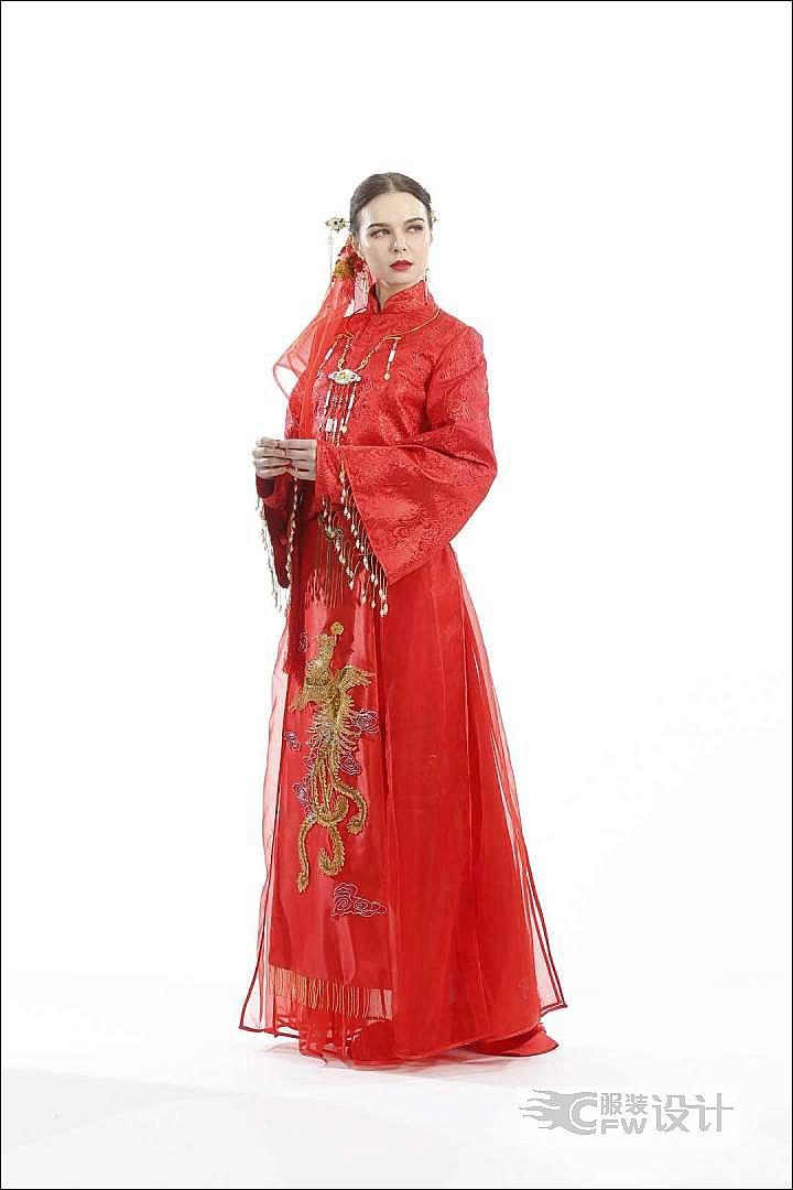 中国传统服装和韩国传统服装作品-中国传统服装和韩国传统服装款式图