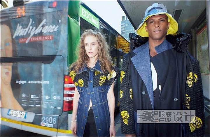 """意大利杂志""""Fashion Magazine""""合作拍摄系列作品-意大利杂志""""Fashion Magazine""""合作拍摄系列款式图"""