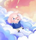 猪年快乐系列插画