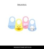 婴儿宝宝围兜设计