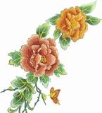 绣花版图案
