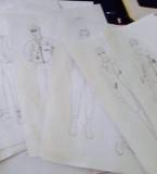 设计手稿和产品设计作品