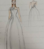 手稿-婚纱