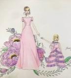 手稿-母女装