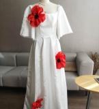 婚纱-立体花