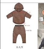 韩版风格童装(款式图与成品图)