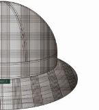 渔夫帽款式效果图