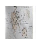 女装设计效果图