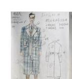 男装设计效果图
