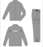 工作服设计图