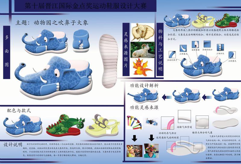 动物园之吹鼻子大象作品-动物园之吹鼻子大象款式图