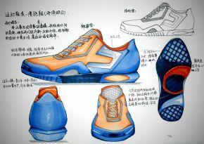 慢跑鞋(海涛映日)