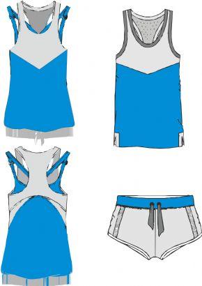 夏季运动服
