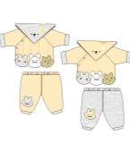 宝宝棉衣套装