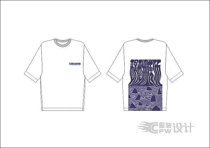 最新T恤作品-最新T恤款式图