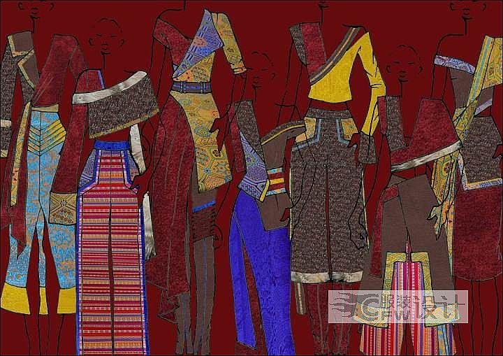 藏梦雍和作品-藏梦雍和款式图