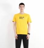 most jeans 系列柠檬黄T恤衫