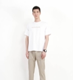 MOST jeans漠士男装白色字母T恤潮