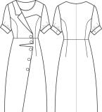醋酸连衣裙