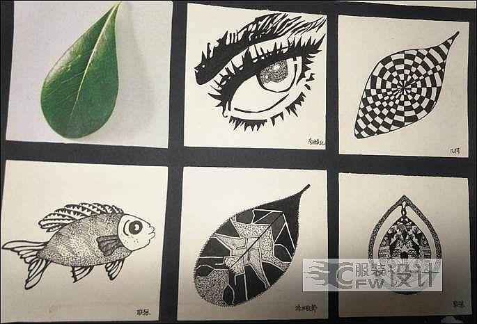 图案花型纹详设计作品-图案花型纹详设计款式图