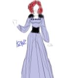 紫色�L裙