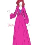 粉色�L裙