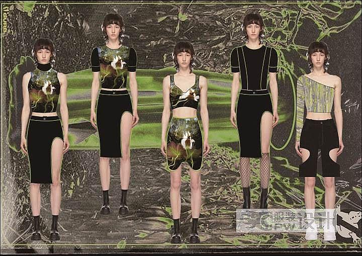 丛林探险小分队作品-丛林探险小分队款式图