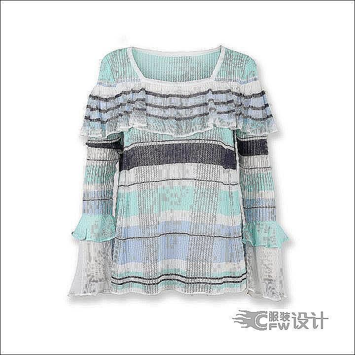 男女童装针织作品作品-男女童装针织作品款式图