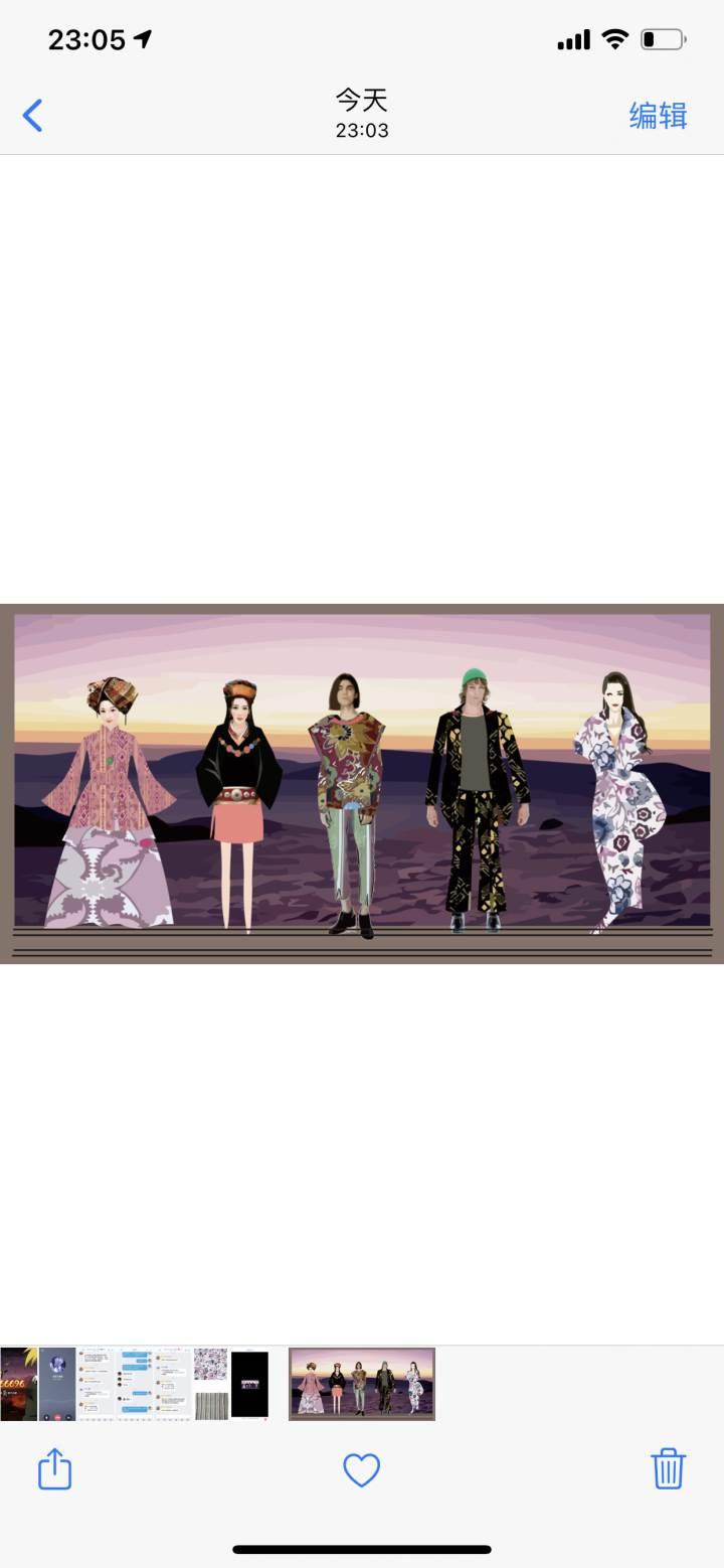 民族时尚作品-民族时尚款式图