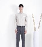 MOST漠士|温暖都市亚麻色男士衬衫