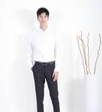 MOST漠士经典绅士白色男士衬衫