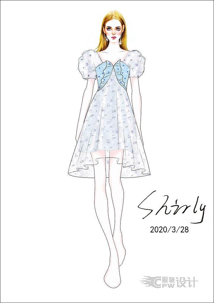 仙女裙作品-仙女裙款式图