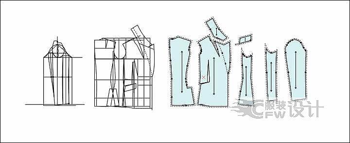 CAD版作品-CAD版款式图