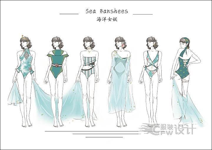 深海女妖作品-深海女妖款式图