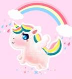 彩虹小白马