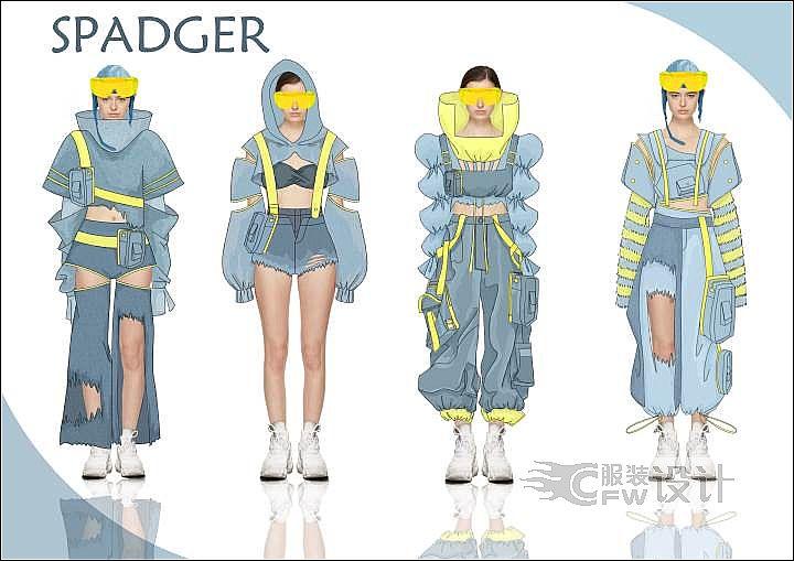 SPADGER作品-SPADGER款式图