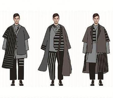 化而裁之――男士休闲服装设计