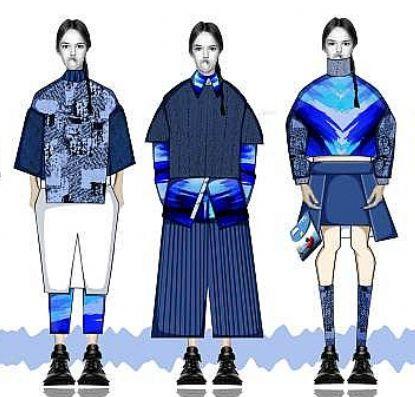 那片海 - 北京大学生时装周