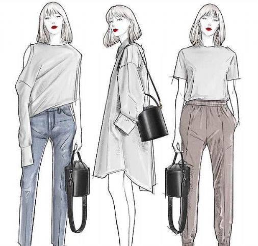 服装设计效果图