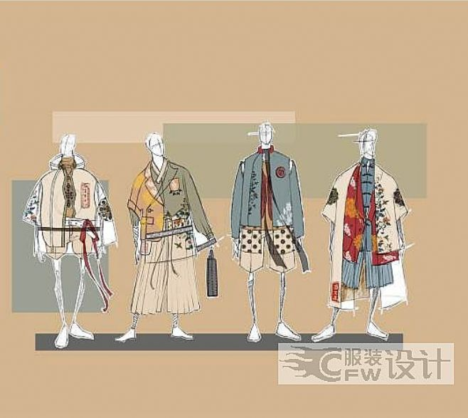 中国华服设计大赛入围作品