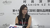 CFW时尚专访杭州关耳文化创意销售经理李于会