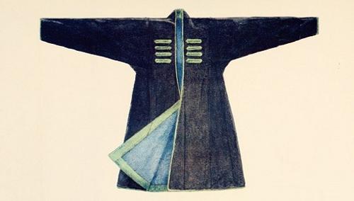 世界各地民族服饰手绘图