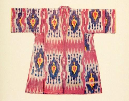 世界各地民族服饰手绘图-服装设计教程-服装学习教程