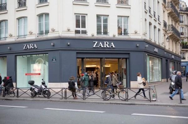 Zara也玩快闪店 快时尚新零售开启变革